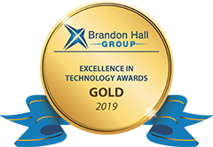 Brainier's SaaS Learning Management System wins GOLD Excellence in Technology Award from Brandon Hall