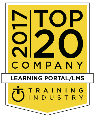Brainier Selected as a 2017 Top 20 Learning Portal Company by TrainingIndustry.com