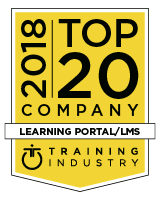 Brainier Selected as a 2018 Top 20 Learning Portal Company by TrainingIndustry.com
