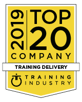 Brainier Selected as a 2019 Top 20 Training Delivery Company by TrainingIndustry.com