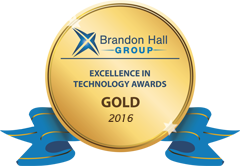Brainier's Élan Enterprise Learning Platform wins GOLD Excellence in Technology Award from Brandon Hall