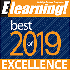 Brainier Wins 2019 Award of Excellence from Elearning Magazine