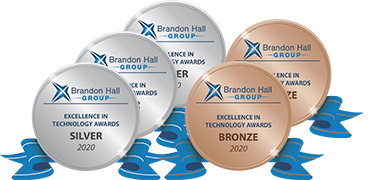 Brainier wins 5 Awards in 2020 Brandon Hall Group Excellence in Technology Awards