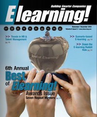 Elearning! Media Group Announces Honorees For Best of Elearning! 2010 Awards