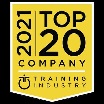 Brainier Named a 2021 Top 20 LMS Company by TrainingIndustry.com